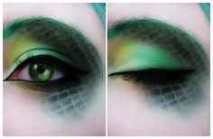 Dragon Make-up. by Inhophetaminex.deviantart.com on @deviantART