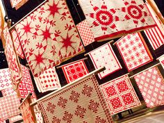 """""""Infinite Variety: Three Centuries of Red and White Quilts"""" by FHH_nyc, via Flickr"""