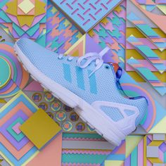 Maud Vantours for Adidas 2014, ZX FLUX Communication