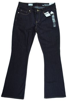 New Nwt GAP Size 27 S Short Dark Blue Curvy Jeans #GAP #BootCut
