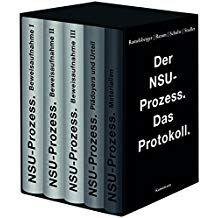 Der Nsu Prozess Das Protokoll Nsu Der Prozess Protokoll Wiedervereinigung Raububerfall Bucher