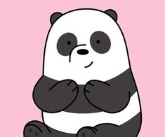 64 images about We Bare Bears on We Heart It We Bare Bears, We Bear, Polar Bear, We Heart It, Panda, Hello Kitty, This Is Us, Old Things, Snoopy
