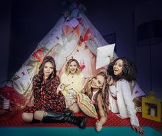 Little Mix Den Day Save the Children