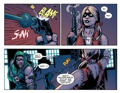 Harley Quinn 'Arrow'