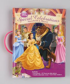 Look what I found on #zulily! Special Celebrations Storybook & Play Set by Disney Princess #zulilyfinds