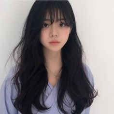 52 Flawless Haircut Ideas To Beautify All Face Shapes haircut hairstyle face women remember org is part of Ulzzang hair - Pelo Ulzzang, Mode Ulzzang, Hair Inspo, Hair Inspiration, Haircut For Face Shape, Korean Haircut, Korean Bangs, Korean Long Hair, Asian Bangs