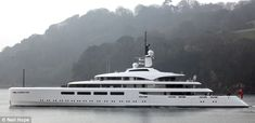 The Vava II is a very expensive gift to the richest woman in the UK from her 2-time America's Cup winning husband    $160,000,000 price tag for this 314ft-long SuperYacht