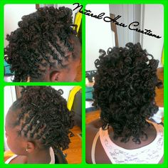 Photo by natural_hair_creations short curly locs style