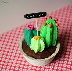 DIY cactus