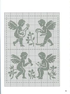 Cupid Angel Cross Stitch