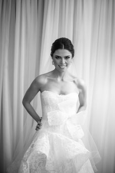 Michelle Nicolai, bride from Brasilia/Brasil styled by me. She wore Monique Lhuillier wedding gown and Oscar de la Renta bridal shoes.