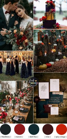 Autumn wedding colors 2019 { Blackberry + Dark Blue + Maroon + Spicy Orange + Wine } – Wedding Tips & Themes Orange Pantone, Pantone Color, Dream Wedding, Wedding Day, Farm Wedding, Wedding Tips, Rustic Wedding Theme, Perfect Wedding, Wedding Favors