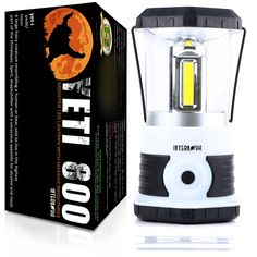Internova Yeti 800 Monster LED Camping and Emergency Lantern - Massive Brightness with Tri-Strip Light Available - Backpacking - Hiking - Auto - Home - College (Himalayan White) * More info could be found at the image url.