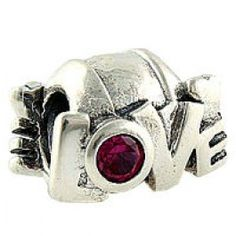 Red LOVE Shape Charm  Fit pandora,trollbeads,chamilia,biagi,soufeel and any customized bracelet/necklaces. #Jewelry #Fashion #Silver# handcraft #DIY #Accessory Pandora Bracelets, Pandora Jewelry, Pandora Charms, Pandora Accessories, Diy Jewelry, Fashion Jewelry, Love Shape, Purple Love, Birthstone Charms