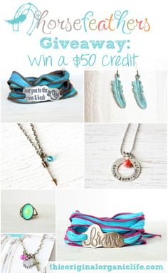 Handmade Giveaway: Horsefeathers Gifts + Coupon Code