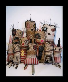 Junker Jane  Monster Clowns Series, 2011  love her work!!