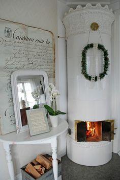 .Wood stove