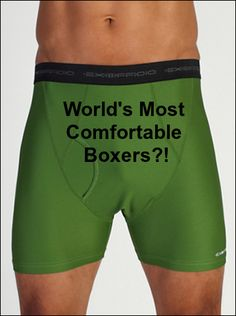 Are These Really The World's Most Comfortable Boxers? Give N' Go Briefs Cause No Grief  ... see more at InventorSpot.com
