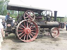 Steam tractor -  mostly used for agriculture in the United States