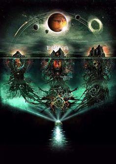 "Epica ""The Quantum Enigma"" Coverartwork, Artwork, Logo-Design & Promophotos The Band, Music Covers, Album Covers, New Age Music, Symphonic Metal, Enigma, Image Fun, Music Pics, Metal Girl"