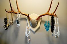 Creative jewelry storage ideas!