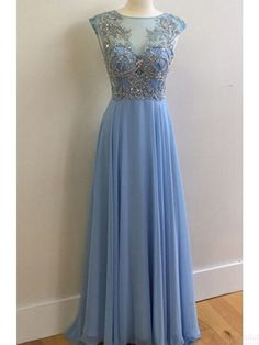 New Arrival Real Made Charming Beading long Prom Dresses,Evening dresses #promdresses #SIMIBridal
