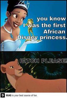 Primeira princesa africana....
