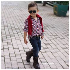 @maks_model Instagram photos | Websta Toddler Boy Fashion, Little Boy Fashion, Young Fashion, Little Boy Outfits, Cute Outfits For Kids, Baby Boy Outfits, Baby Boy Dress, Baby Boy Swag, Ropa Interior Calvin