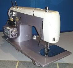 This Kenmore Model 52 is a strong machine with zigzag and straight stitches.