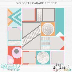 WendyP Designs: August Digiscrap Parade