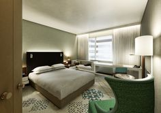 THE NEW HILTON SCHIPHOL * 433 luxury guest rooms.