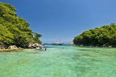 Ilha Grande (RJ). Lagoa Azul.