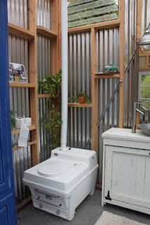 Outdoor Bathroom Designs cool outdoor bathroom ideas with round shape white bathtub and beautiful waterfall showersimple bali designs Composting Toilet For Zachs Dream Yurt