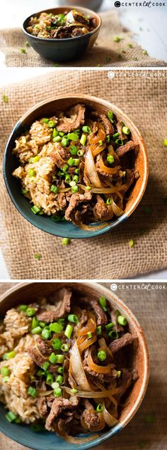Make your own better-than-takeout MONGOLIAN BEEF in the SLOW COOKER and enjoy a healthy, delicious dinner tonight!
