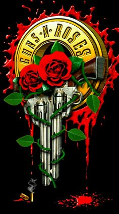 For everything Guns n Roses check out Iomoio Hard Rock, Guns N Roses, Rock Bands, Rock And Roll, Arte Pink Floyd, Rock Band Posters, Heavy Metal Art, Band Wallpapers, Sugar Skull Tattoos