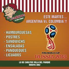Mañana los esperamos a todos para alentar a la selección!!! Te esperamos con panqueques dulces y salados, bebidas, cervezas y postres!!!! Nogoya 3062 Villa del Parque