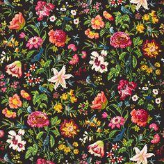 Black + floral for Spring!