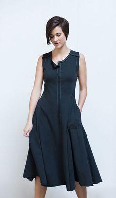 Meagan Dress | Alabama Chanin                                                                                                                                                                                 More