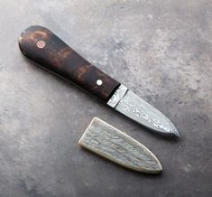 Birch & Damasteel Oyster Knife | Eatingtools.com