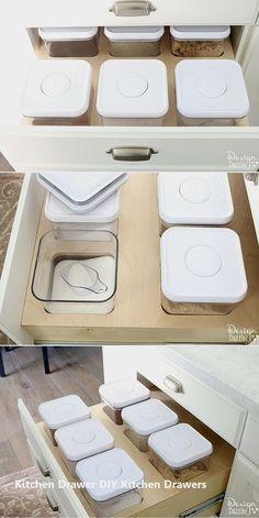 Kuke frigorifero congelatore salvaspazio organizer Storage rack mensola del cassetto frigorifero Storage box verde Green Normal