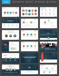Flato - Flat Multipurpose Keynote Template by SlideWerk on Envato Elements