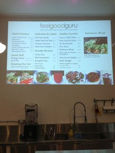 Feel Good Guru Liquid Rainbow, Mango Pie, Kale Salad, Healthy Salads, Places To Eat, Stew, Feel Good, Feelings, Toronto