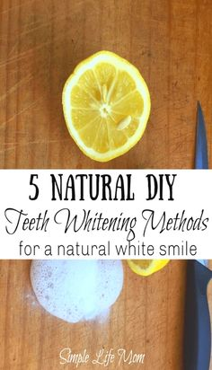 5 DIY Teeth Whitening Methods for a Natural White Smile – Simple Life Mom - [ . - 5 DIY Teeth Whitening Methods for a Natural White Smile – Simple Life Mom – [ 5 DIY Teeth White - Teeth Whitening Methods, Charcoal Teeth Whitening, Natural Teeth Whitening, Whitening Kit, Homemade Teeth Whitening, Hydrogen Peroxide Teeth, Get Whiter Teeth, White Smile, Be Natural