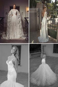 Conheça os vestidos de noiva maravilhosos by Dany Mizrachi http://www.revistamariee.com.br/post/382
