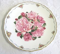 Vintage Royal Albert Collector Plate Queen by TheWhistlingMan