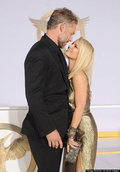Jessica Simpson and Eric Johnson are all smiles