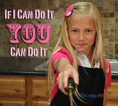 An 8 year old girl fixes a Kitchen Aid mixer. Can you?