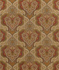 Swavelle / Mill Creek Foxboro Cognac Fabric - $20.05 | onlinefabricstore.net