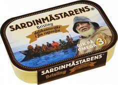 Sardines ( Sprat fishes ) 100 g ( 3.50 oz ) SARDINMASTARENS Made in Sweden #SARDINMSTARENS