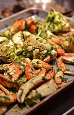 Roasted DungenessCrab